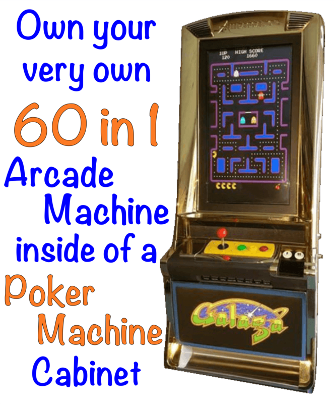 Arcade Poker Machine