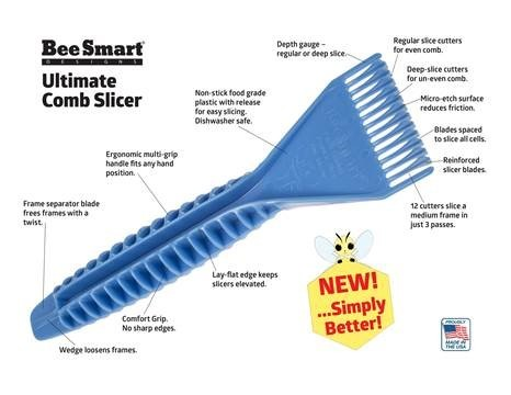Ultimate Comb Uncapper System from Beesmart Designs