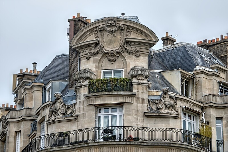 Ornate Parisian Apartment