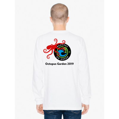 SALE!  2019 Octopus Garden Long Sleeve | Unisex WHITE
