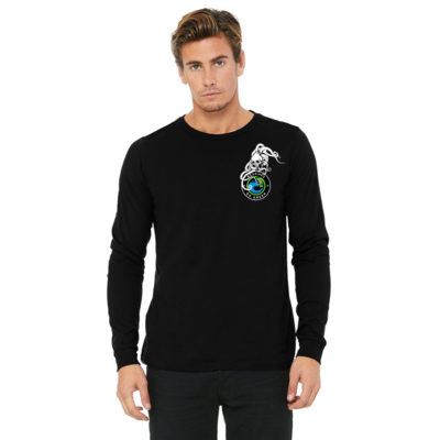 Skull Octopus Garden Long Sleeve | Unisex BLACK