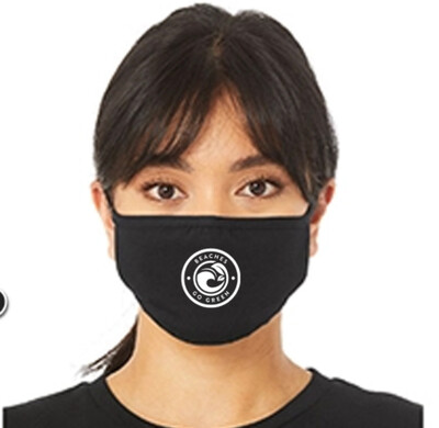 BGG Reusable Face Mask - BLACK