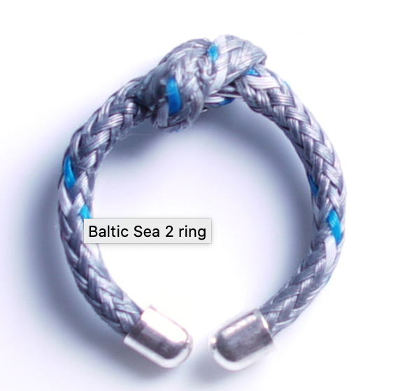 Bracenet RECYCLED Ring - Baltic Sea 2