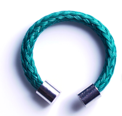 Bracenet RECYCLED Ring - Irish Sea