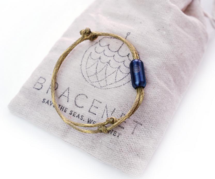 Bracenet RECYCLED bracelet - Wadden Sea
