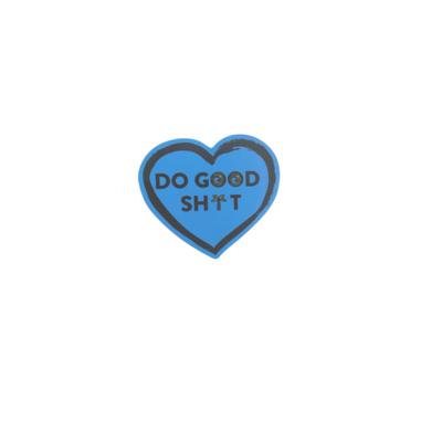 DO GOOD SH!T HEART STICKER