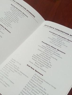 Event Program Sponsor