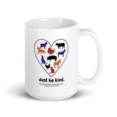 Abe's Funny Farm Fundraiser Mug