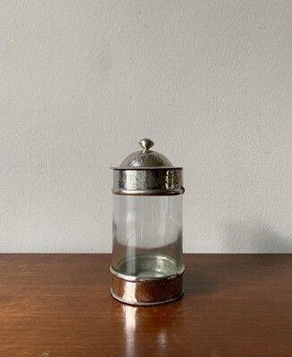 Morrocan Maillechort Canister M