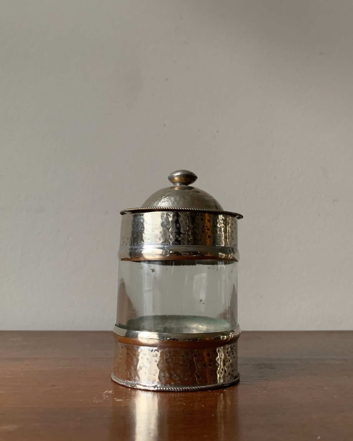 From Morocco / Morrocan Maillechort Canister S