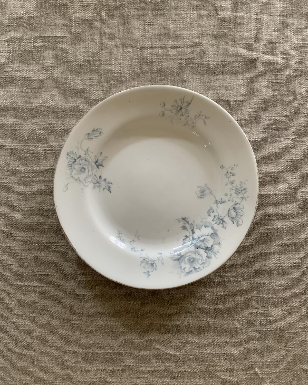 Brocante / 花柄デザート皿