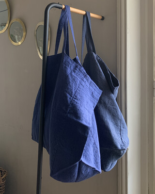 Washed Linen Sac Grand