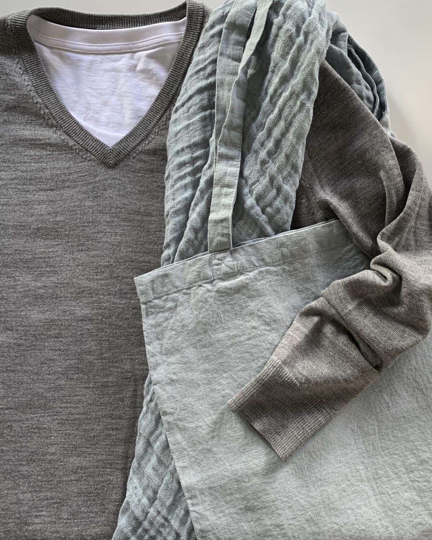 Washed Linen Tote Bag