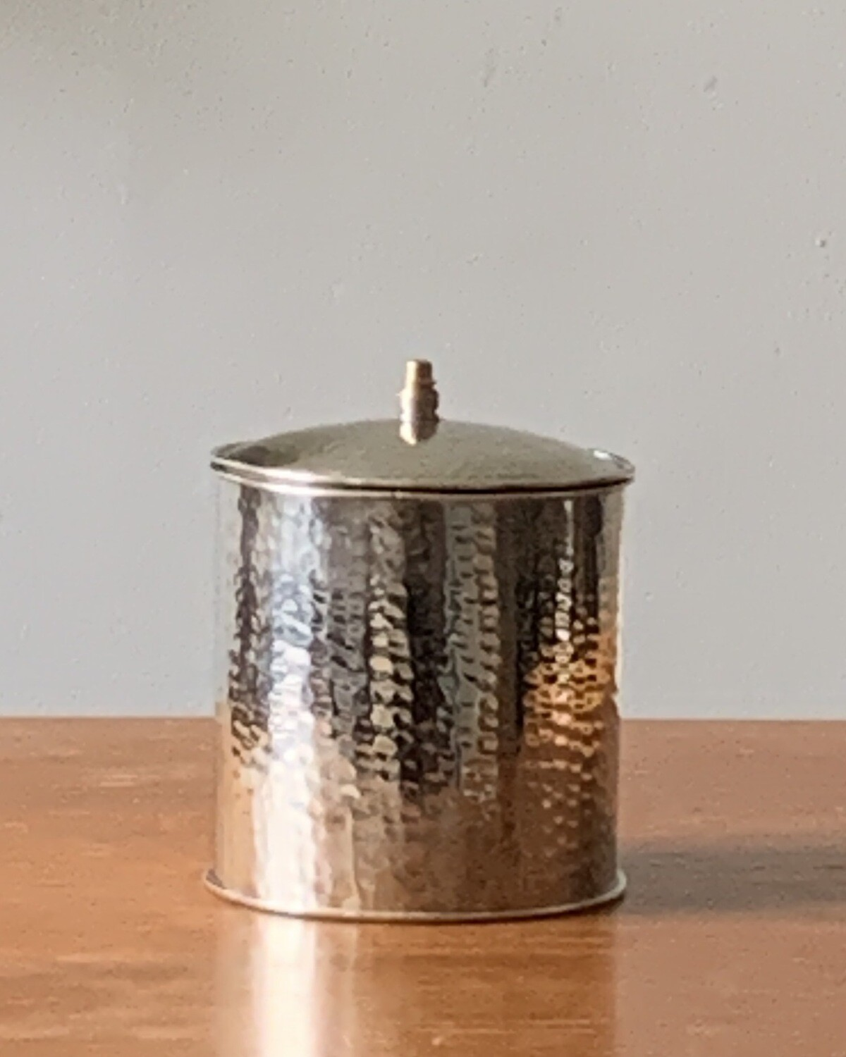 From Morocco / Morrocan Maillechort canister OS