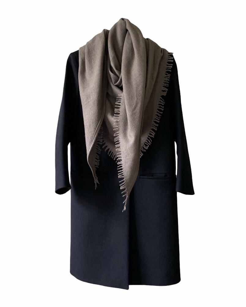 BLUi Wool Cashmere Stole / Triangle