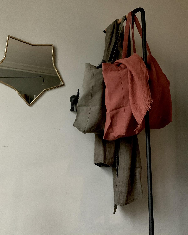 Washed Linen Bag / Medium