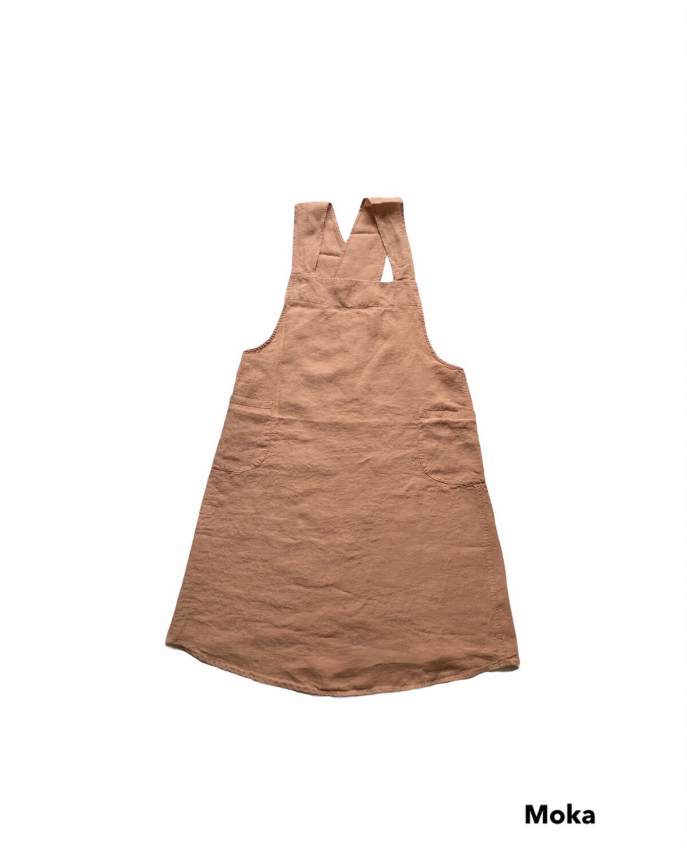 Washed Linen Apron / Tablier Japonais
