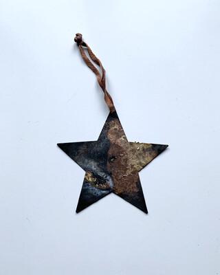 Xmas / オーナメント 星(メタル)