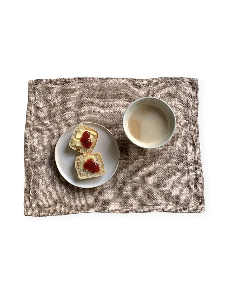 Washed Linen Table mat / Heavy