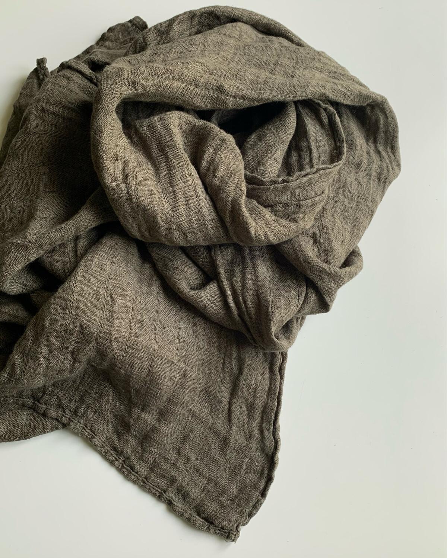 Washed Linen Stole Unisex 180x60cm
