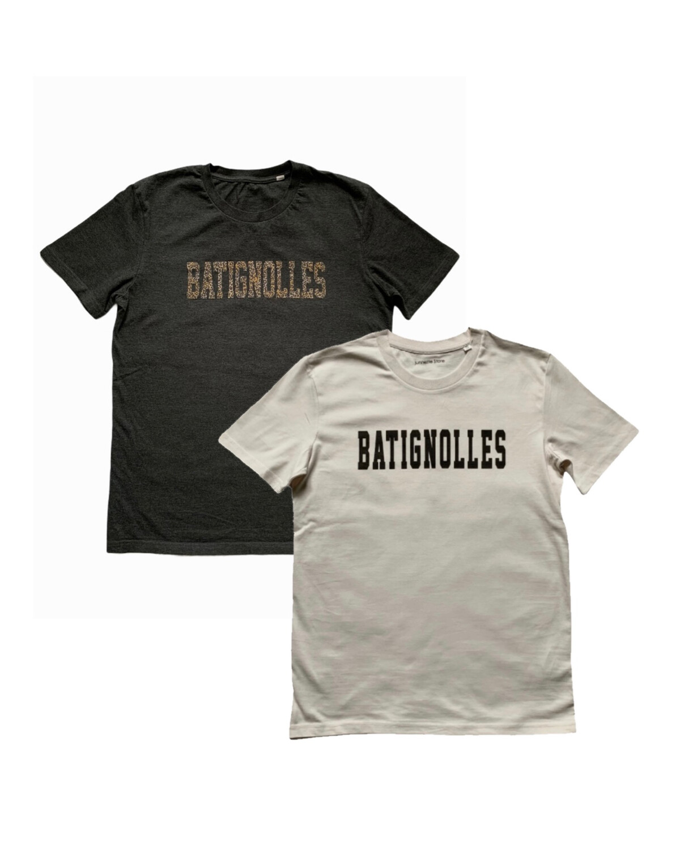 "Organic Cotton Print T-shirt ""Lucie & Luc / Batignolles"" / Unisex"