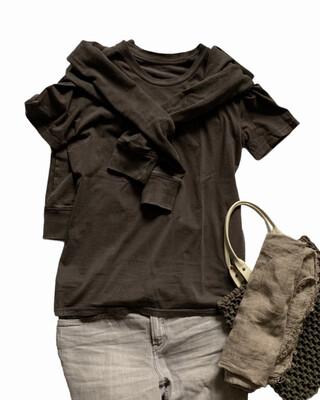 "Organic Cotton T-shirt ""Lucie & Luc"" Vintage Style / Unisex (Preorder)"