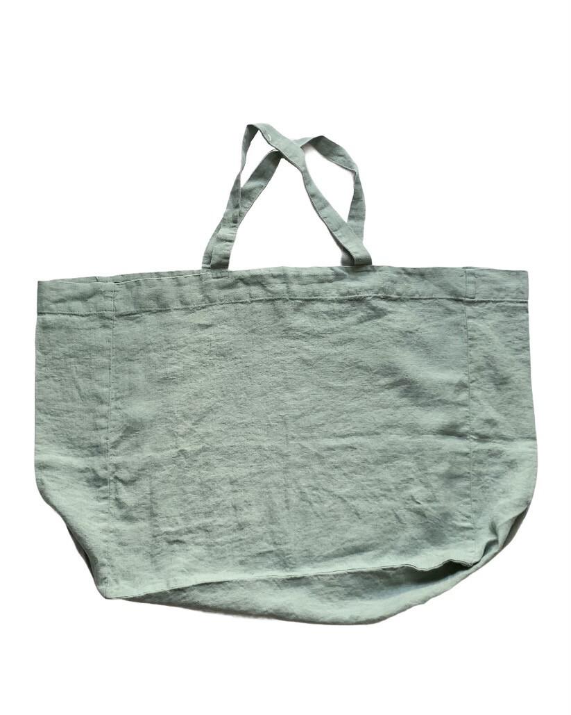 Washed Linen Bag / Grand