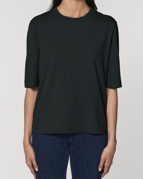 "Organic Cotton T-shirt ""Philippe"" ロゴ無し / Women (Preorder)"