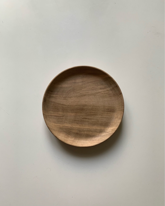 From Morocco / 胡桃の木の小皿12.5cm