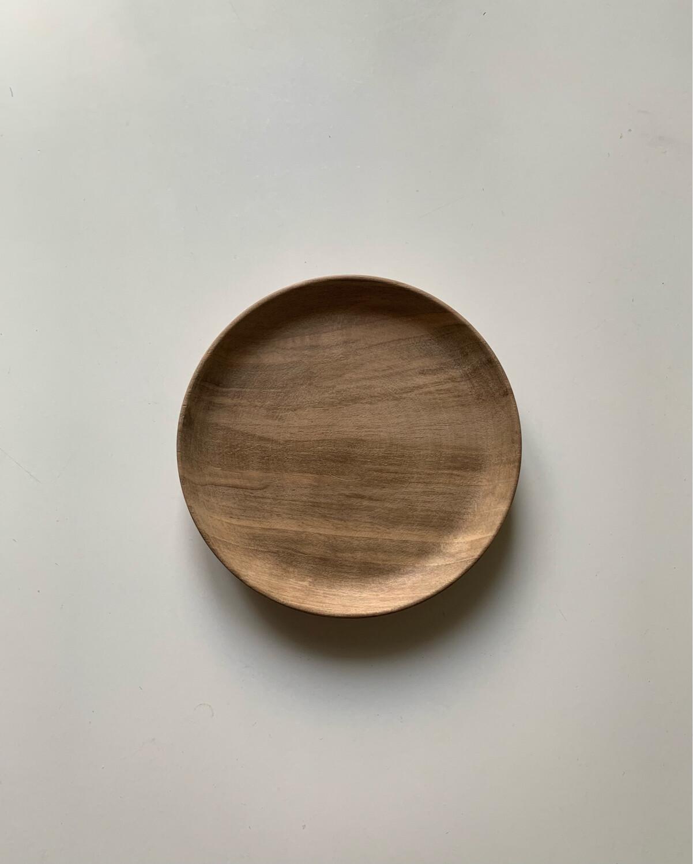 From Morocco / 胡桃の木の小皿14.5cm
