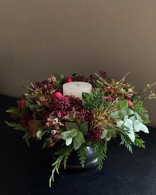 WS / 11月クリスマス装飾各種レッスン (オンライン)