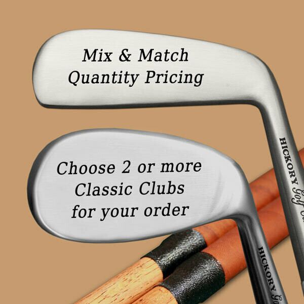 Mix and Match Engraved Classic Golf Clubs