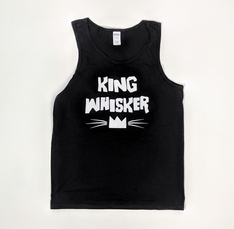 King Whisker Logo Tank