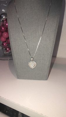 Flat Heart Necklace