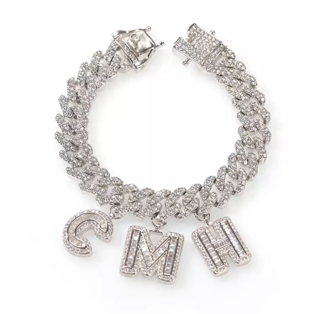 Cuban Link Name Bracelet
