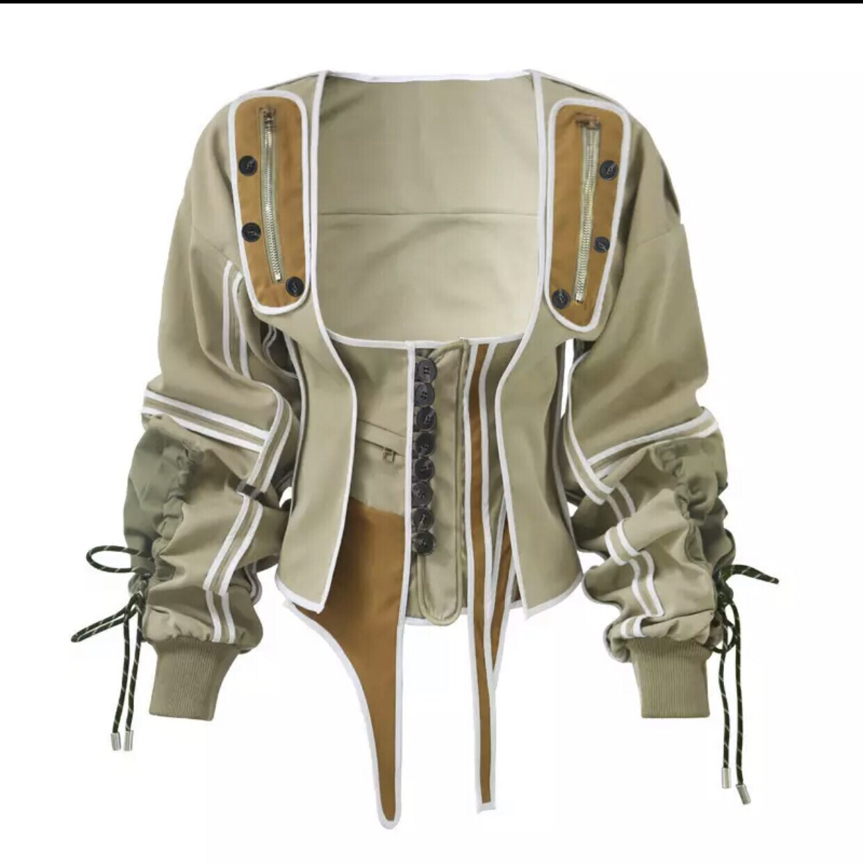 2 Piece Military Corset Jacket ( Preorders )