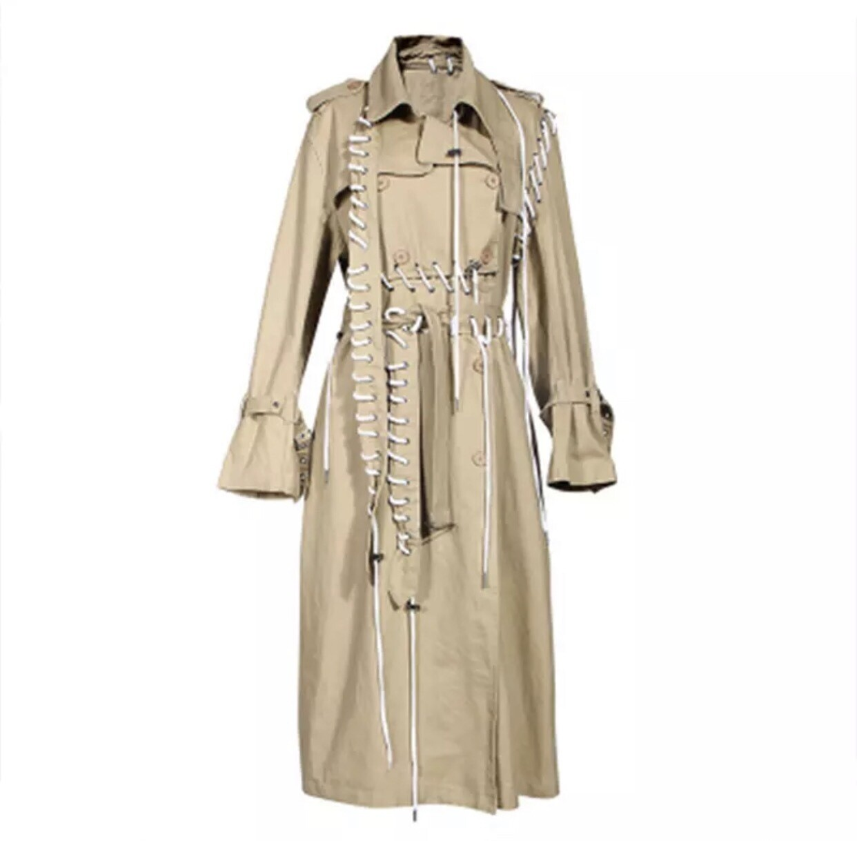 Laced Trench Coat Preorder