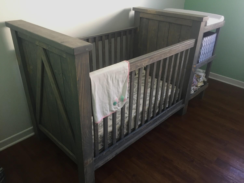 Farmhouse Style Crib