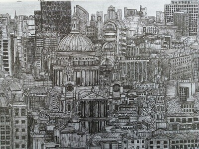 St Paul's Cityscape - Limited edition Print