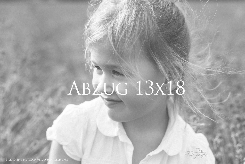 Abzug 13x18