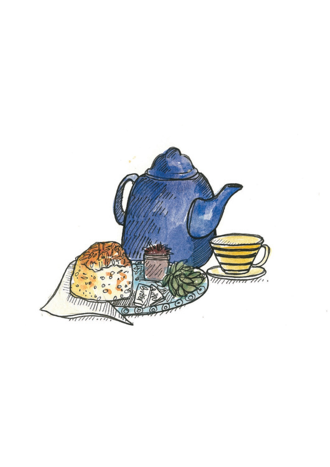 Gift Voucher for a Savoury Tea for Two
