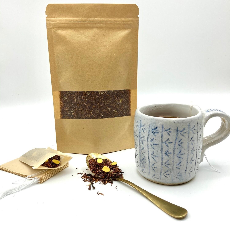 Cinnamon and Plum Sencha Loose Leaf 50g