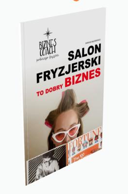 Książka - Salon fryzjerski to dobry biznes