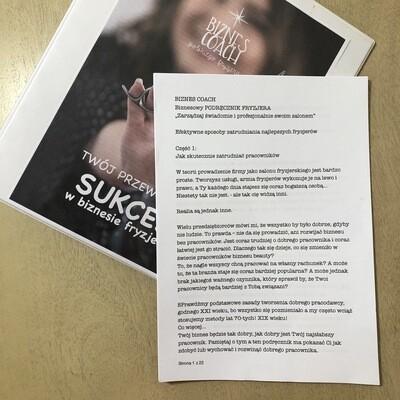 e-book: Przewodnik do SUKCESU, część 1: Rekrutacja i zatrudnianie