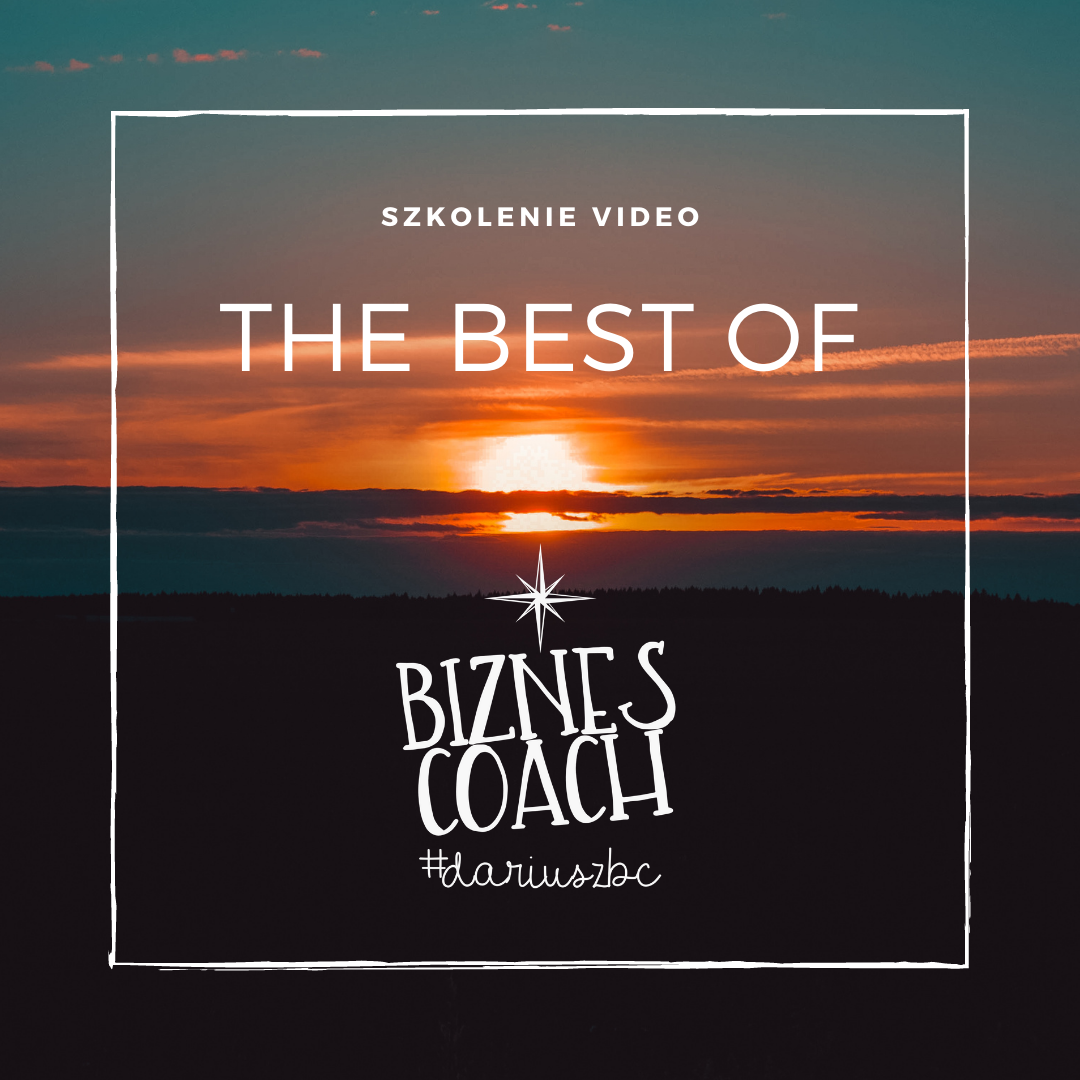 Szkolenie Video - The Best Of Biznes Coach