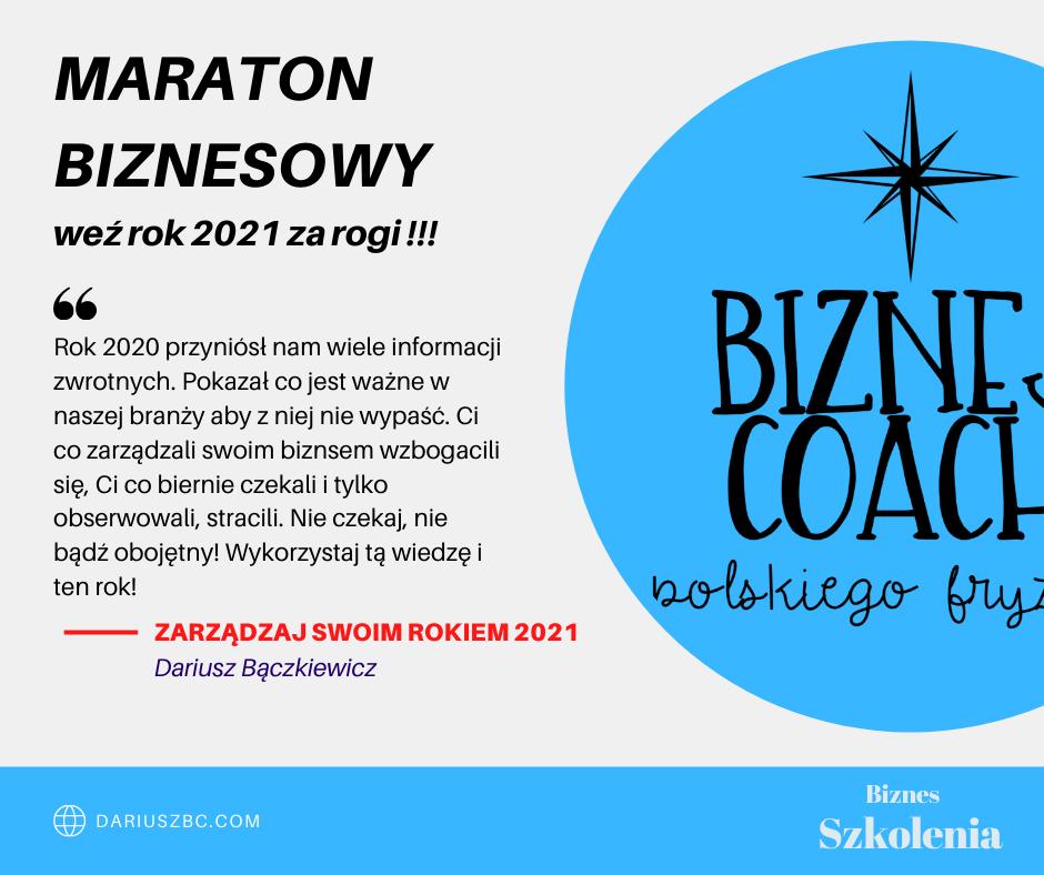 Maraton BIZNESOWY 2021