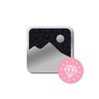 Значок «Ночная Гора» Никель