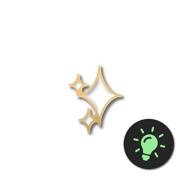 Значок «Звезда» светящаяся в темноте