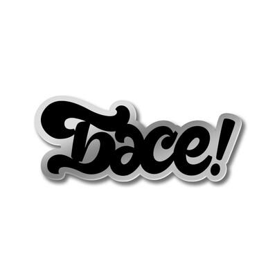 Значок «БӘСЕ!» Серебряный