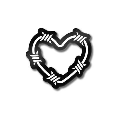 Значок «Колючка» Черный никель